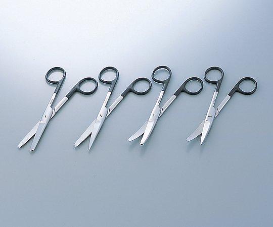 剪刀(スーパー・外科剪刀) 両鈍 曲 180mm B220-314V 1本【条件付返品可】