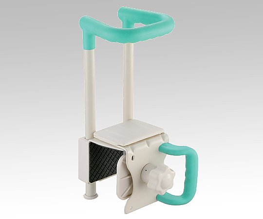 浴槽手すり (175x200~260x390mm/グリーン) C45-130-GR 1個【条件付返品可】