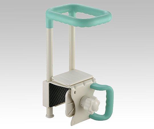 浴槽手すり (175x220~265x390mm/グリーン) W45-130-GR 1個【条件付返品可】