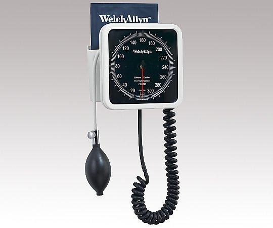 血圧計[タイコス767シリーズ] 7670-01 ウォール型 成人用(中)カフ付き 1個【条件付返品可】