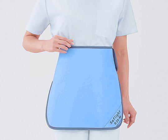 X線防護スカート SLSM35 Lブルー SLSM-35 1枚【条件付返品可】