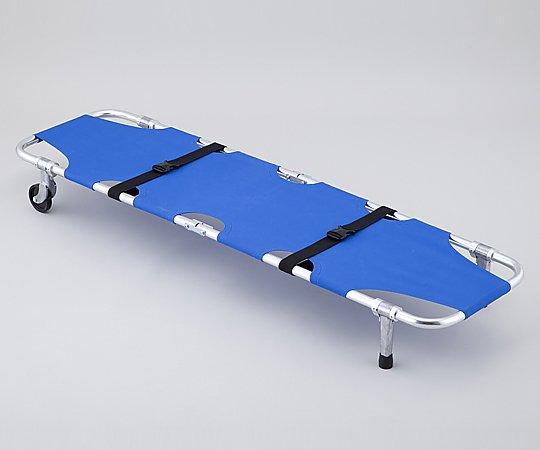 折りたたみ担架 YDC-1A1 520x1850x230mm 5.8kg 1台【条件付返品可】