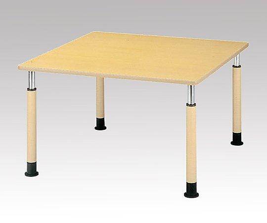 昇降式テーブル (角型/1200x1200x595~795mm) FP-1212K(角型) 1台 【大型商品】【同梱不可】【代引不可】【キャンセル・返品不可】