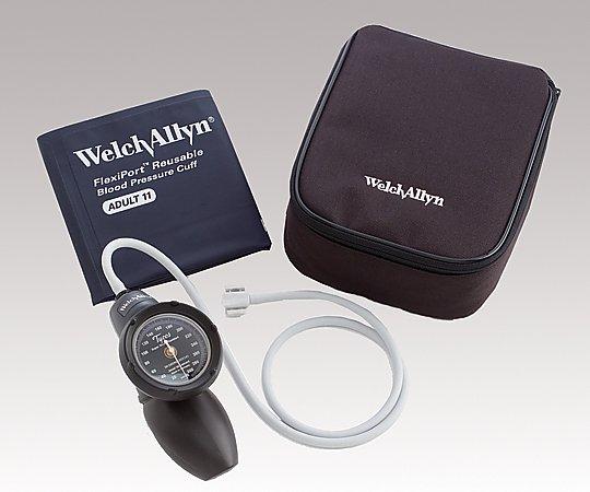 アネロイド血圧計[デュラショック・ハンド型] 成人用(中) カフ付き DS58-11 1個【条件付返品可】