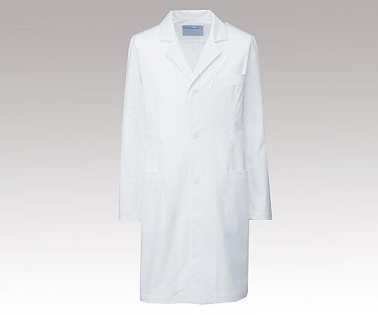 メンズ診察衣 (ハーフ丈/S型) ホワイト/L REP200 C/10 1枚【返品不可】:MeReCare-y(メリケア)店