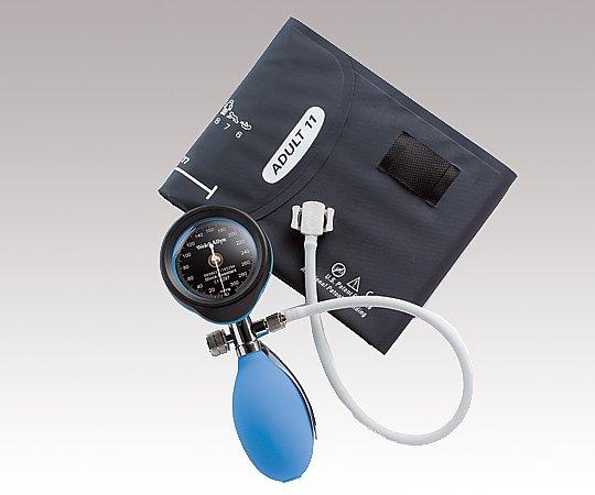 アネロイド血圧計[デュラショック・バンド型] DS55-21-129 ブルー 1個【返品不可】