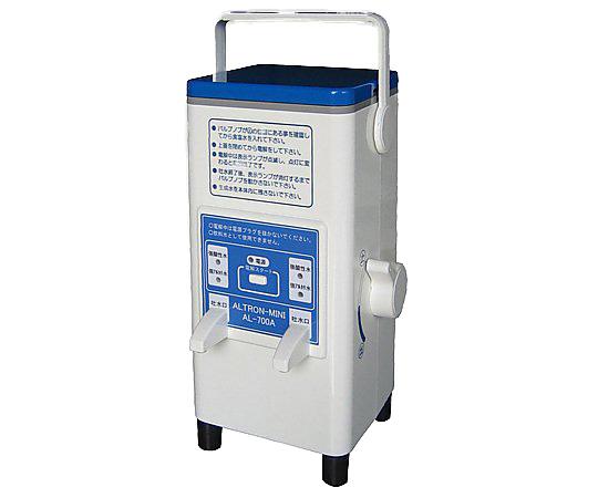 ポータブル強酸性水生成器 2kg AL-700A 1個 アズワン【条件付返品可】