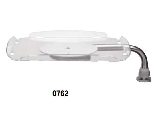 AURIONカート 0762 回転トレー(TVモニター台・耐荷重12kg) 762 1個【条件付返品可】