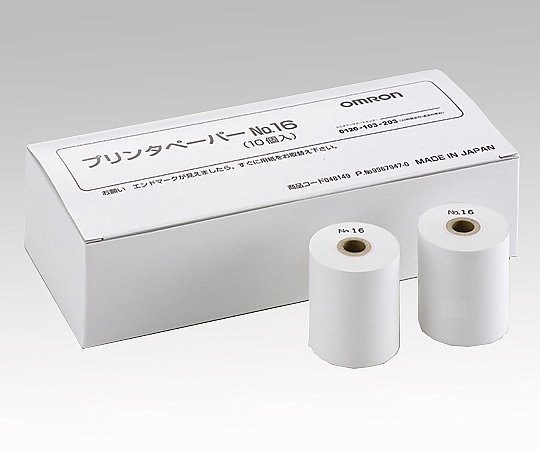 全自動血圧計 HBPPAPER-NO16H プリンタ用紙 1箱(10巻入り)【条件付返品可】