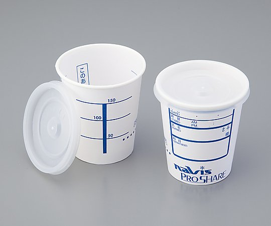 プロシェア検査用採尿コップ[CUP-205] 2500 1箱(2500個入り) アズワン【返品不可】