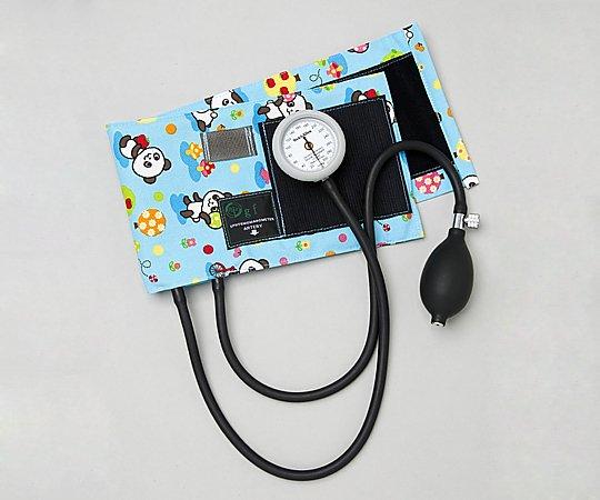 ギヤフリーアネロイド血圧計 成人用 ブルー ループスライド可能型 1個【条件付返品可】