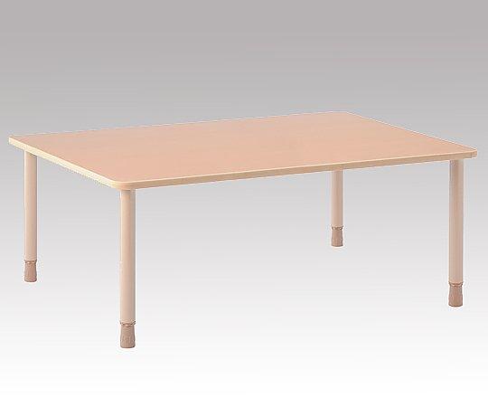 高さ調節ができるテーブル (1600x900x660~730mm) TBH-1609-QBE 1台 【大型商品】【同梱不可】【代引不可】【キャンセル・返品不可】