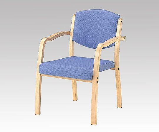 強度に優れた椅子 (ホープ) (540x590x800mm/ブルー) HPE-150-V ブルー 1脚 【大型商品】【同梱不可】【代引不可】【キャンセル・返品不可】