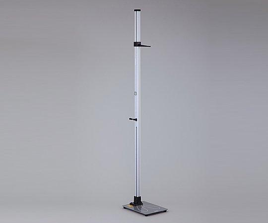 金属身長計[シルバーワイド] YS102-S 幼児1.5m 1台【条件付返品可】