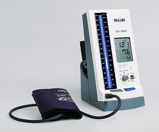 水銀柱イメージ・デジタル血圧計 DM-3000 1式【条件付返品可】