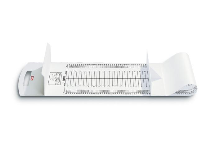 seca 210 乳児用身長測定マット 使用範囲10~99cm 最小目盛5mm サイズW1250xH140xD300mm 1枚【条件付返品可】