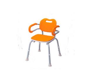シャワーチェア(肘掛付) VALSYK02OR オレンジ 1台 パナソニックエイジフリーライフテック【返品不可】