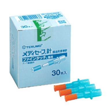医療総合商社が運営 メディセーフ針 ファインタッチ専用 直営限定アウトレット 穿刺針 MS-GN4530 箱 テルモ 条件付返品可 30本 血糖測定器用 店内全品対象