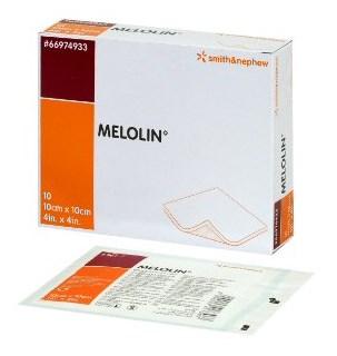 医療総合商社が運営 非固着性ドレッシング メロリン 滅菌済 10x10cm 10枚 美品 箱 S N 限定価格セール 返品不可 スミスアンドネフュー