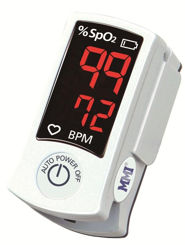 MMI パルスオキシメーター 赤色LEDディスプレイ SB100 村中医療器【条件付返品可】