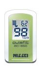 パルスフィット(指先クリップ型パルスオキシメーター) BO-650 バーデュア・グリーン【条件付返品可】