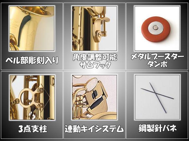 J.Michaelアルトサックスお手入れ用品付きセット!AL-780(JマイケルAL780)