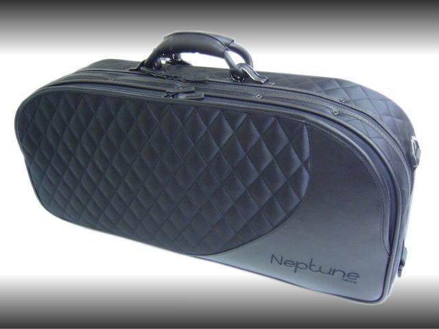 NEPTUNE(ネプチューン) アルトサックス用 セミハードケース AS-830 ブラック (AS830BK)