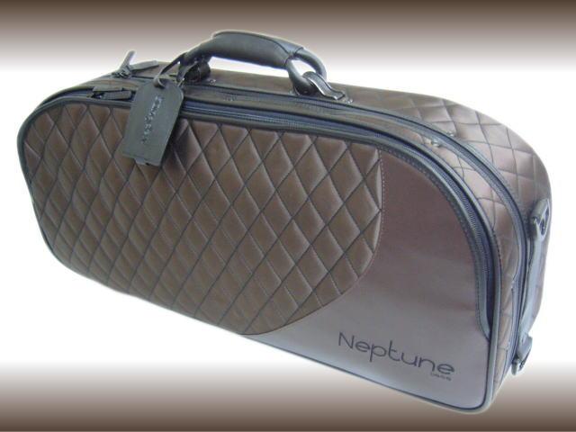 【送料無料】NEPTUNE(ネプチューン) アルトサックス用 セミハードケース AS-830 ブラウン (AS830BR)