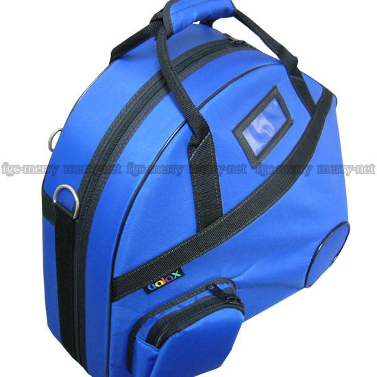 【送料無料】GALAX フレンチホルン用 ケース ブルー : ギャラックス 青 【お取り寄せ】【ラッキーシール対応】