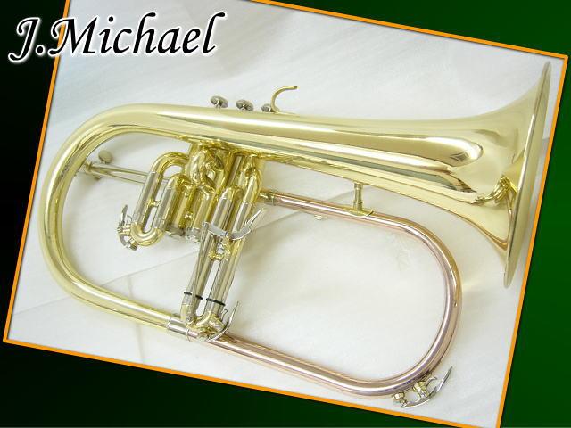 【送料無料】【クロス/バルブオイル付】J.Michael フリューゲルホルン FG-500 (Jマイケル/FG500 )【ラッキーシール対応】