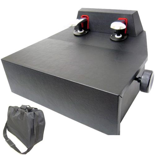 【送料無料】ピアノ補助ペダル:M-60 ソフトケース付き:ピアノ用 ペダル付き足台【ラッキーシール対応】