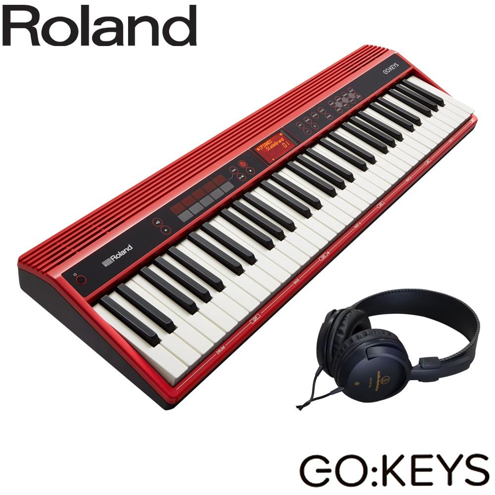 【送料無料】Roland ローランド GO KEYS (ステレオヘッドフォン付き)61KEY ポータブルキーボード