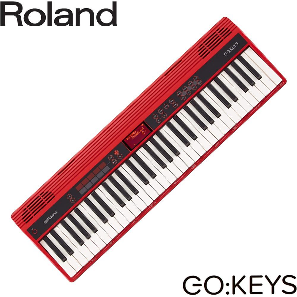 【送料無料】在庫あり■Roland ローランド ポータブルキーボード GO KEYS (61鍵電子キーボード)【ラッキーシール対応】