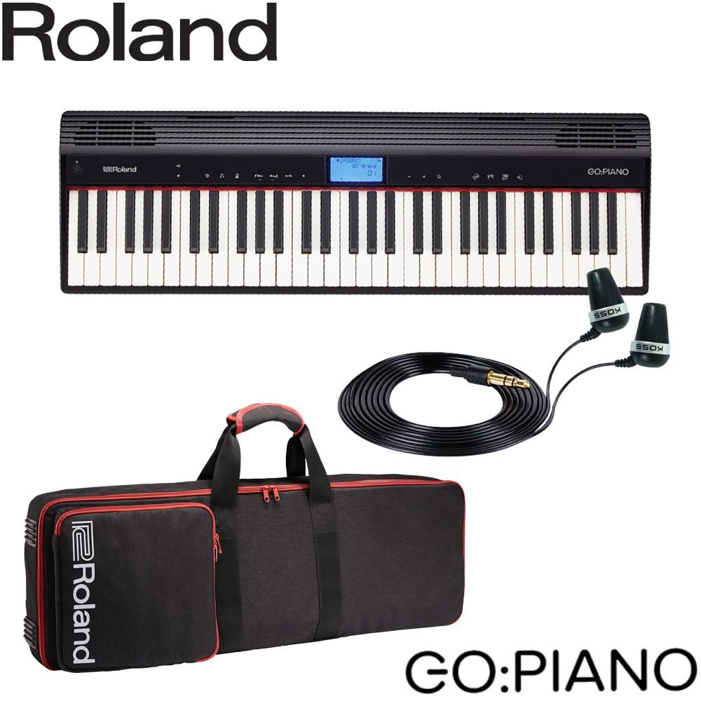 【送料無料】Roland ローランド 小型キーボード GO Piano (ピアノ系音色が充実) ゴーピアノ ケースセット