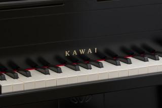 在庫あり■たのしいクリスマス曲集付きカワイ ミニピアノ アップライト型 ブラック 1151 河合楽器(KAWAI)【ラッキーシール対応】