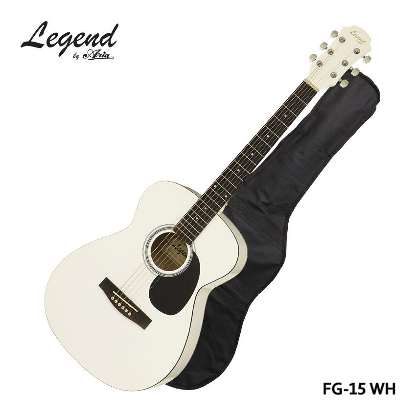 【完売】  在庫あります 初心者 WH【ケース付】Legend アコースティックギター FG-15 WH レジェンド フォークギター 入門 レジェンド 初心者 FG15【ラッキーシール対応】, マツドシ:e16cdcbb --- moynihancurran.com