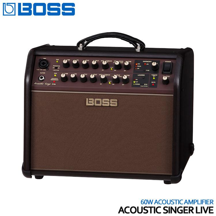 在庫あります【送料無料】BOSS アコースティックギターアンプ Acoustic Singer Live ボス ACS-LIVE エレアコアンプ