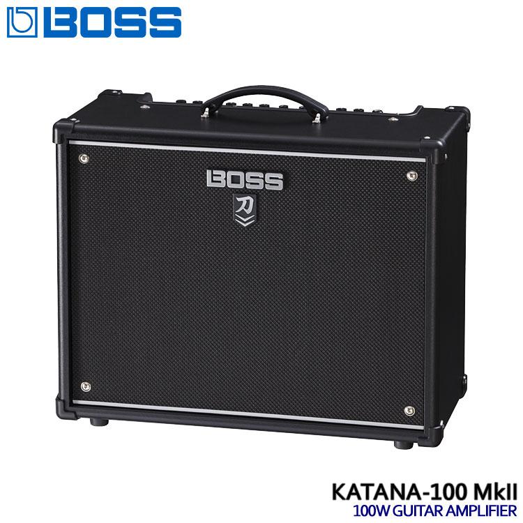 在庫あります【送料無料】BOSS コンボギターアンプ KATANA-100 MkII ボス 刀 KTN-100 2■PU5