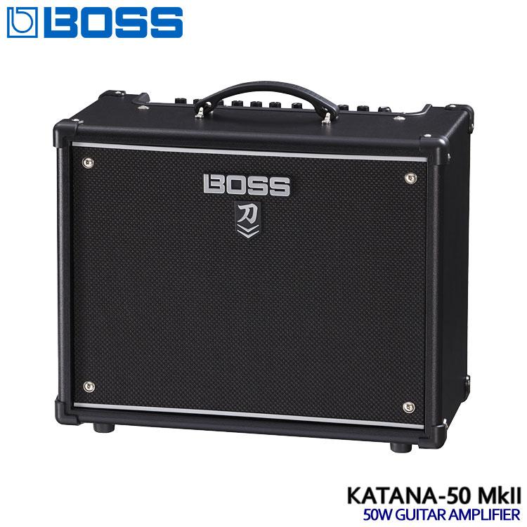 【送料無料】BOSS コンボギターアンプ KATANA-50 MkII ボス 刀 KTN-50 2