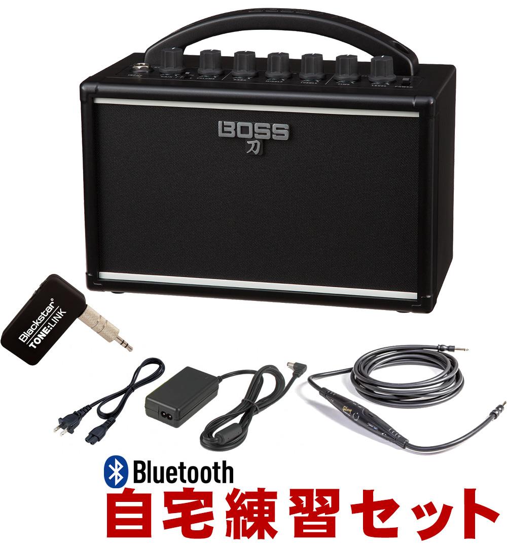【送料無料】Bluetooth受信機付き BOSS ミニギターアンプ KATANA MINI (ACアダプター付き)【ラッキーシール対応】