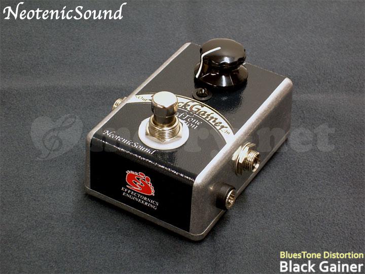 在庫あり【送料無料】NeotenicSound ハードトーンディストーション BlackGainer ネオテニックサウンド エフェクター EFFECTORNICS ENGINEERING