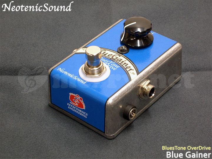在庫あります■NeotenicSound ブルーストーンオーバードライブ BlueGainer ネオテニックサウンド エフェクター EFFECTORNICS ENGINEERING【ラッキーシール対応】