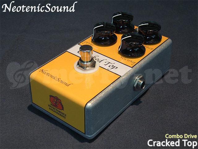 在庫あり【生産完了モデル】Neotenic Sound コンボドライブ CrackedTop ネオテニックサウンド エフェクター EFFECTORNICS ENGINEERING【ラッキーシール対応】