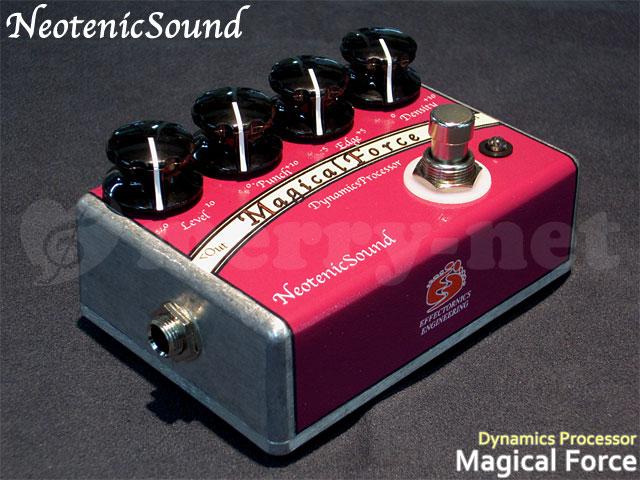 在庫あります■NeotenicSound ダイナミクスプロセッサ Magical Force ネオテニックサウンド エフェクター EFFECTORNICS ENGINEERING【ラッキーシール対応】