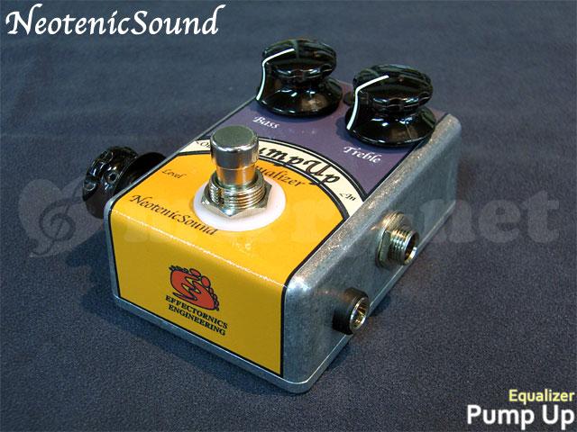 在庫あり【送料無料】【生産完了モデル】NeotenicSound イコライザ Pump Up ネオテニックサウンド エフェクター EFFECTORNICS ENGINEERING