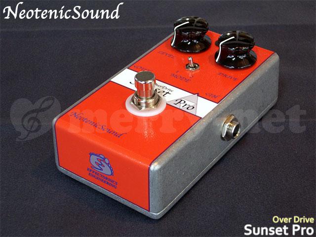 オーバードライブ Sound 在庫あり【生産完了モデル】Neotenic エフェクター ENGINEERING EFFECTORNICS ネオテニックサウンド Pro Sunset