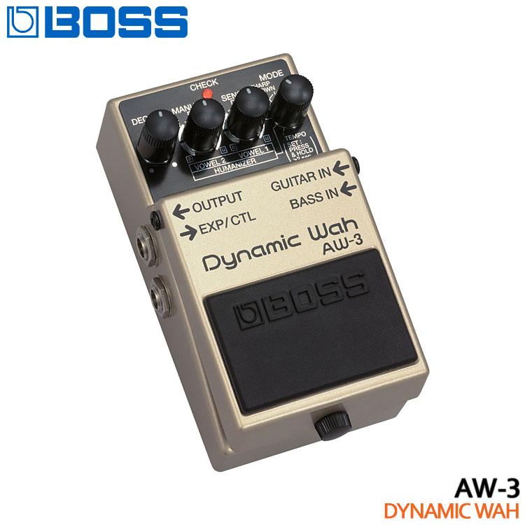 【送料無料】BOSS ダイナミックワウ AW-3 Dynamic Wah ボスコンパクトエフェクター【ラッキーシール対応】