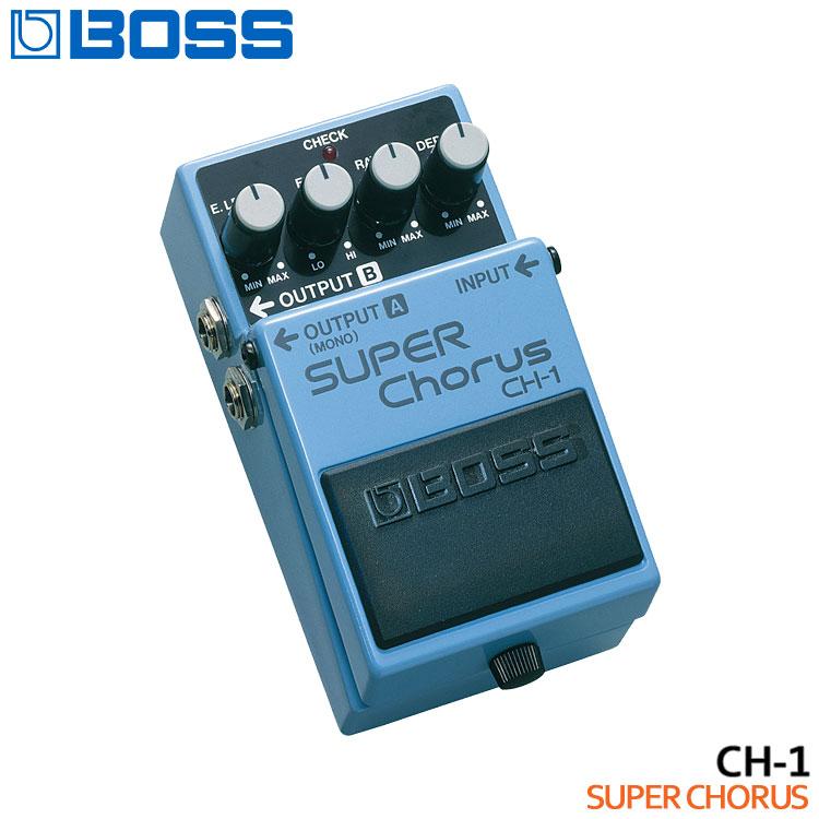 【海外限定】 【送料無料】BOSS SUPER スーパーコーラス CH-1 SUPER Chorus ボスコンパクトエフェクター CH-1 Chorus【ラッキーシール対応】, ブドウショップ:a4925433 --- clftranspo.dominiotemporario.com