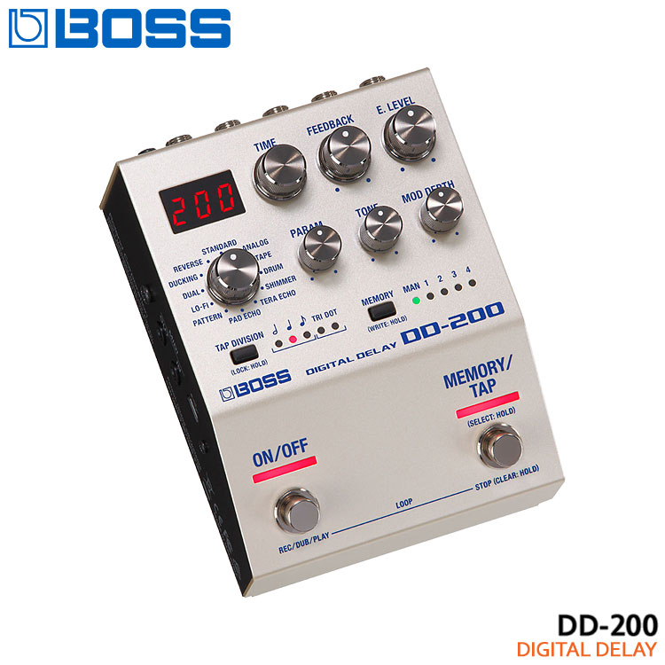 【送料無料】BOSS デジタルディレイ DD-200 Digital Delay ボスコンパクトエフェクター■PU5