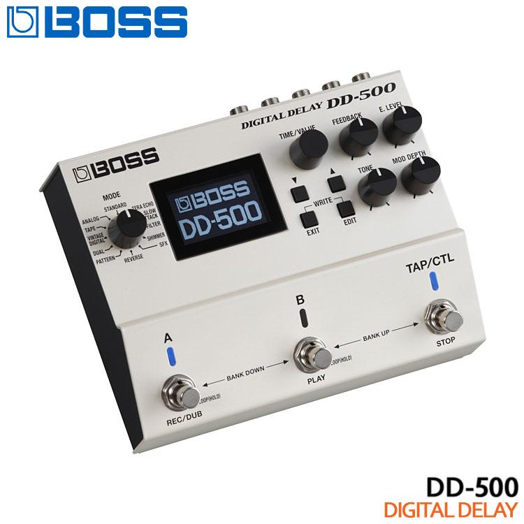 Digital 別倉庫からの配送 人気の定番 Delay ポイント8倍 限定セール 在庫あり デジタルディレイ 送料無料 BOSS DD-500 ボスコンパクトエフェクター